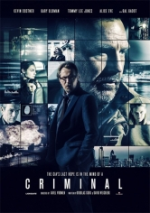 Criminal (Mente Implacable) poster