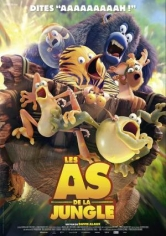 Les As De La Jungle (Una Jungla De Locura) poster