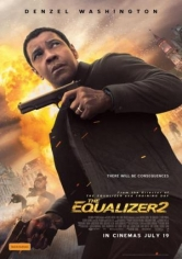 The Equalizer 2 (El Justiciero 2) poster