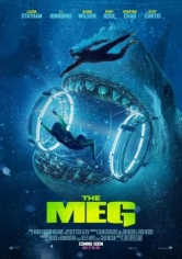 The Meg (Megalodón) poster