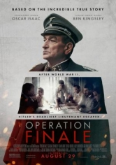 Operation Finale (Operación Final) poster