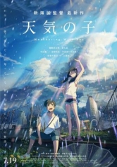 Tenki No Ko (Weathering With You) poster