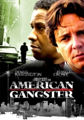 American Gangster (Gánster Americano) poster