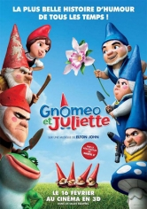 Gnomeo And Juliet (Gnomeo Y Julieta) poster