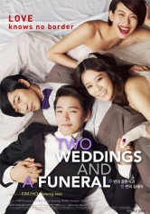 Two Weddings And A Funeral poster