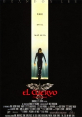 The Crow (El Cuervo) poster