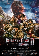 Attack On Titan 2: End Of The World poster