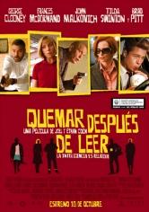 Burn After Reading (Quémese Después De Leerse) (2008)