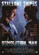 Demolition Man (El Demoledor) poster