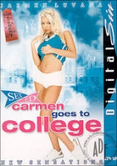 CARMEN GOES TO COLLEGE poster